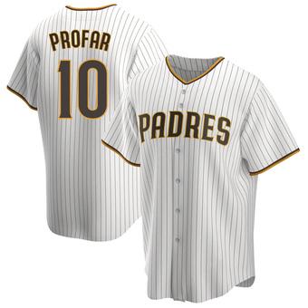 Men's Jurickson Profar San Diego White/Brown Replica Home Baseball Jersey (Unsigned No Brands/Logos)